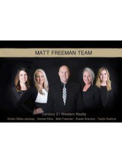 Matt Freeman Team of CENTURY 21 Western Realty photo