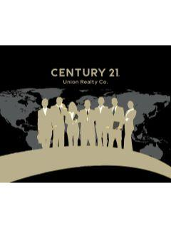 Ernie Villarico of CENTURY 21 Union Realty Co.
