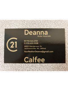 Deanna Calfee of CENTURY 21 Champion Real Estate