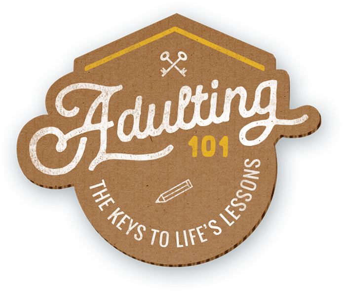Adulting 101 logo