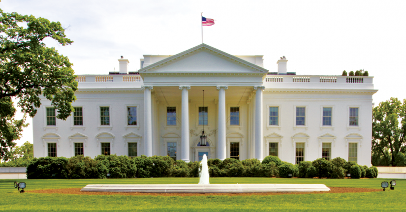 10 facts about the white house century 21 for Did george washington live in the white house