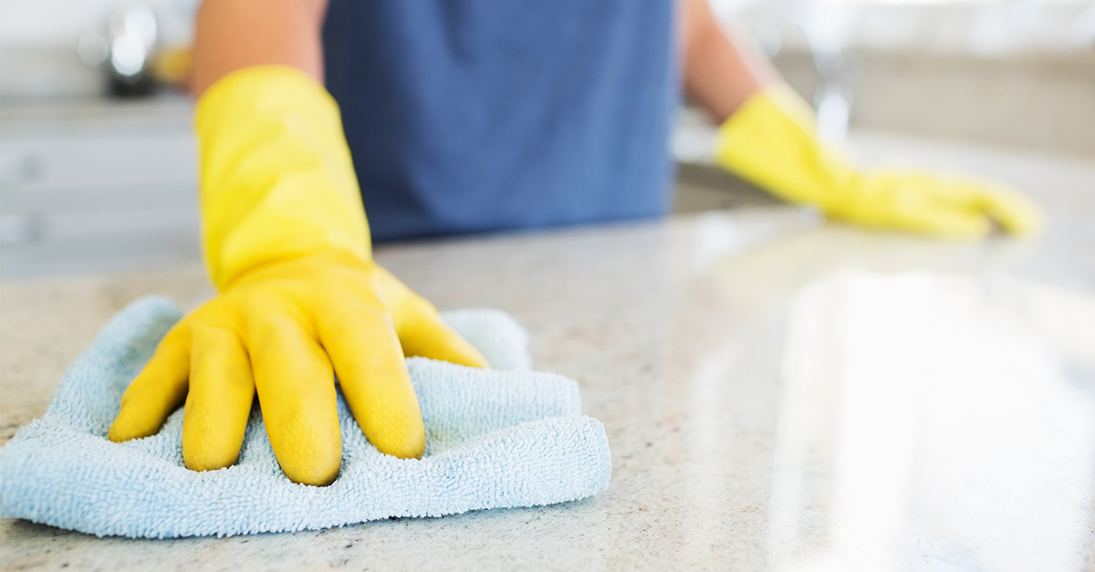 Cleaning Hacks to Help Prevent the Flu