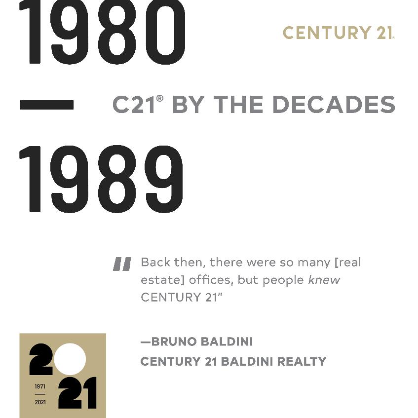 Bruno Baldini 1980's- C21 Making it's Mark image 1